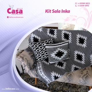 Kit Sala Inka 3 peças